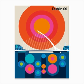 Dublin 09 Canvas Print