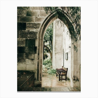 Place For Contemplating Canvas Print