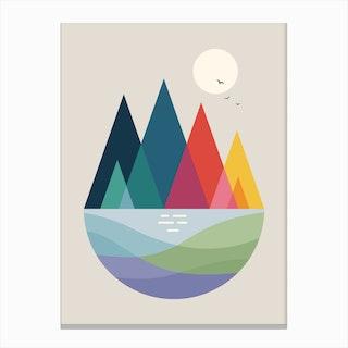 Somewhere Canvas Print