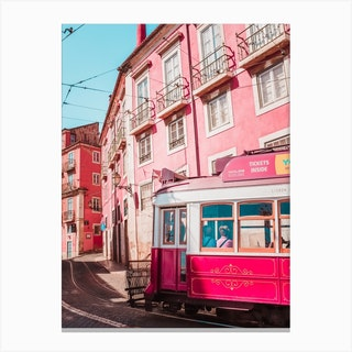 Tram For Two Canvas Print