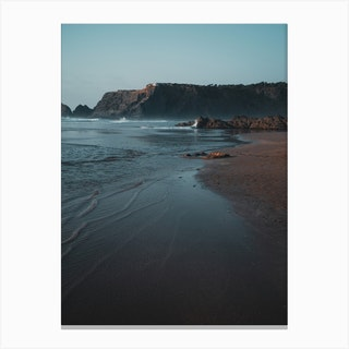 Waves At The Beach Canvas Print