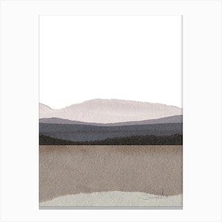 Paper Land Deux Canvas Print
