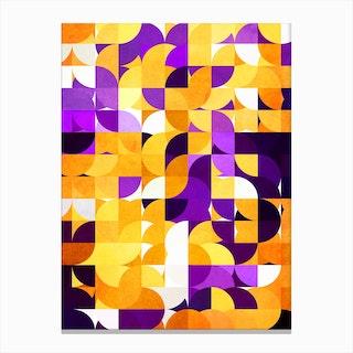 Geometric XXV Canvas Print