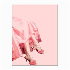 Pink Lady III Canvas Print