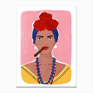 La Cubana Canvas Print