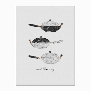 Wok This Way Canvas Print