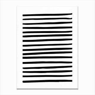 Lines Abstract Canvas Print