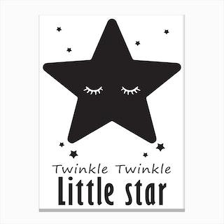 Twinkle Little Star Canvas Print
