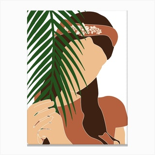 Tropical Reverie Fleeting Moments Canvas Print
