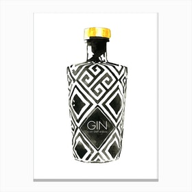 Gin Is My Spirit Animal Canvas Print