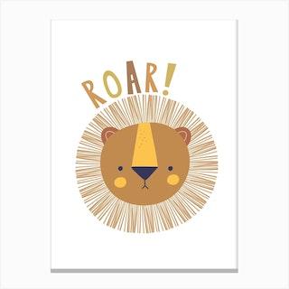 Roar Lion Canvas Print
