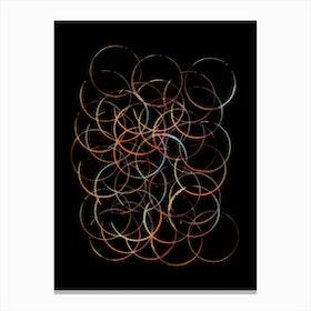 The Burning Circle Canvas Print