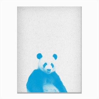 Frolein Panda I Canvas Print