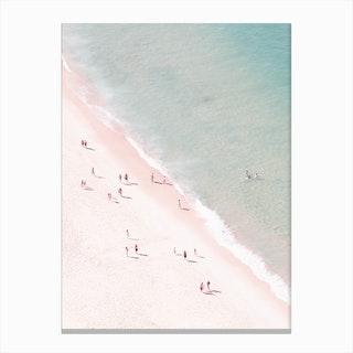 Beach Summer Fun Canvas Print