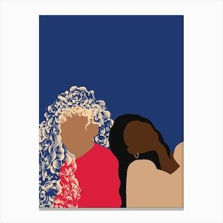 Sisters2 Canvas Print