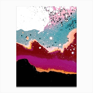 Logic Drowned In A Sea Of Emotion Canvas Print