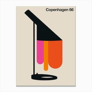 Copenhagen 66 Canvas Print