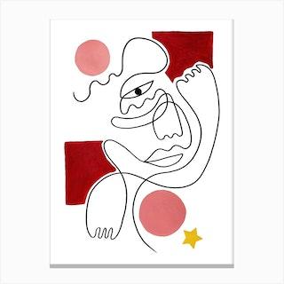 Roya Canvas Print
