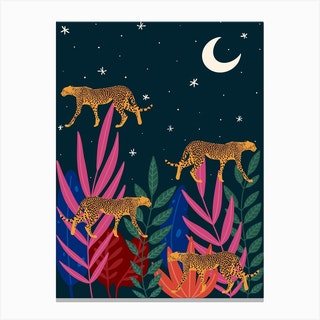 Spirit Animals Cheetah Canvas Print