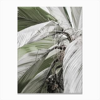 Green Jungle I Canvas Print
