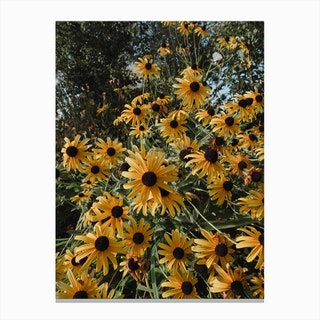 Happy Yellow Canvas Print
