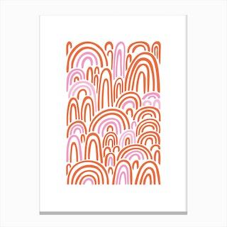 Infinite Rainbows Canvas Print