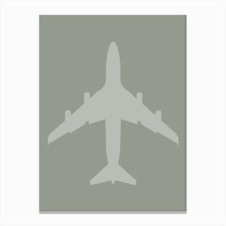 Jet Plane Canvas Print