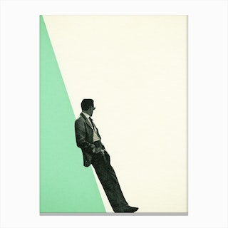 Cool as a Cucumber Canvas Print