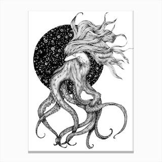 Young Ursula Canvas Print