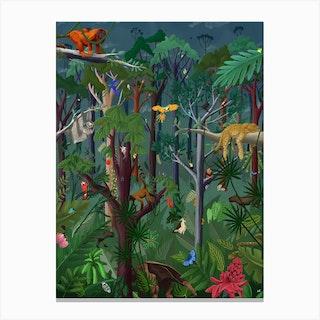 Rainforest Mood Canvas Print