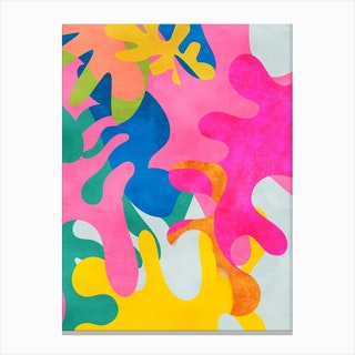 Minimal Matisse 3 Canvas Print