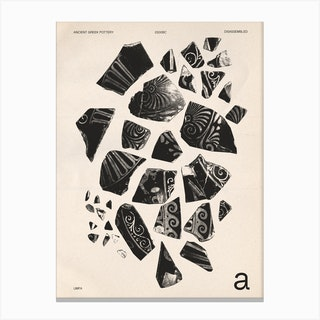 Disassembled Side A Canvas Print