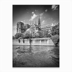 Paris Cathedral Notre Dame Canvas Print