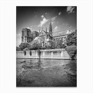 Paris Cathedral Notre Dame Canvas Print