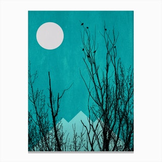 Black Forrest Canvas Print