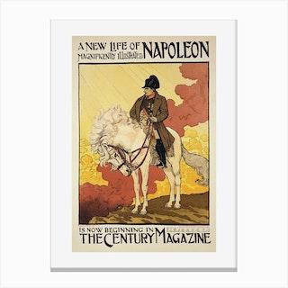 A New Life Of Napoleon Canvas Print