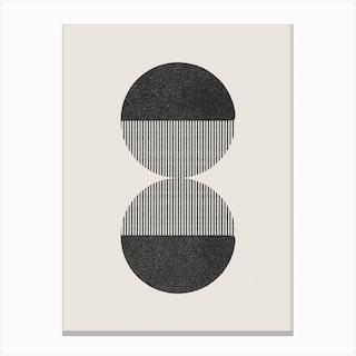 Abstract Circles 18 Canvas Print