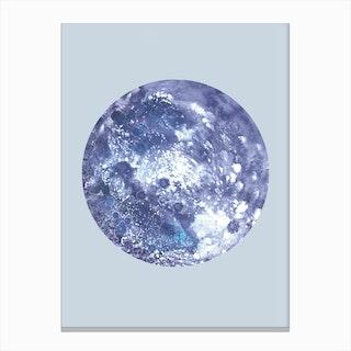 Earh Blue Canvas Print
