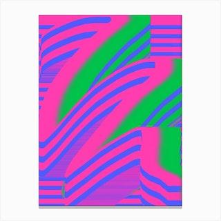 Watermelon Swish Canvas Print