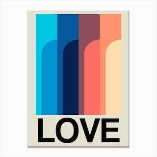 Love Cove Summer Breeze Canvas Print