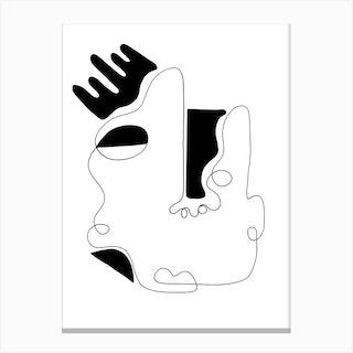 The Genius Of Pain 4 Canvas Print