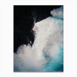 Breaking Surf Canvas Print