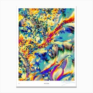 No 3 Perfection Prints Gin Canvas Print