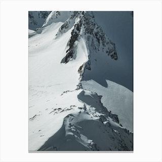Glacier Deatails Canvas Print