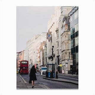 London Morning Canvas Print