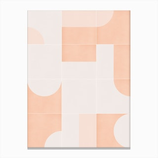 Retro Tiles 05 Canvas Print