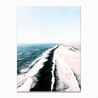 Pink Sand I Canvas Print