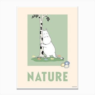 The Moomin Collection Nature Canvas Print