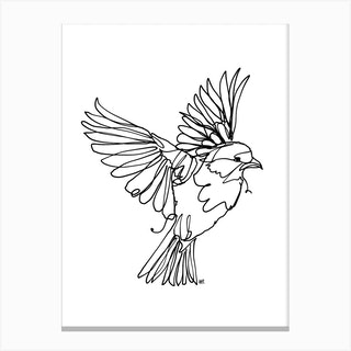 If You Are A Bird Canvas Print