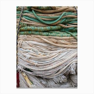 Fisherman Rope Canvas Print